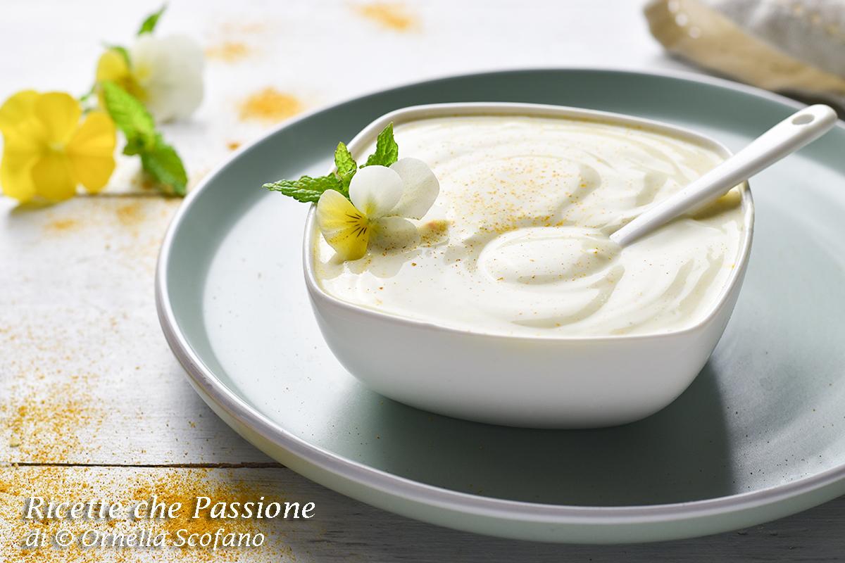 come fare la salsa al curry senza cottura yogurt e maionese
