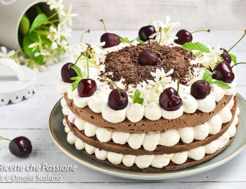 Torta foresta nera alle ciliegie