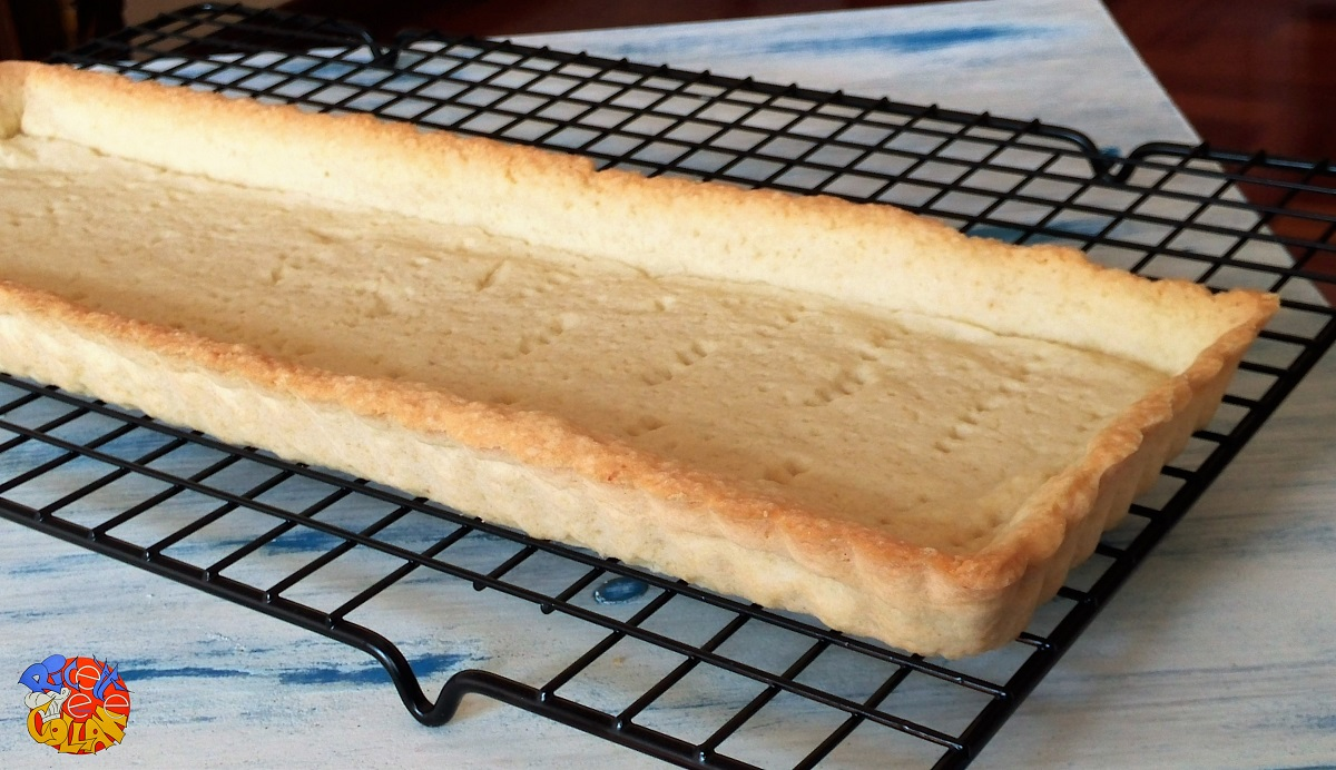 Cottura in bianco della pasta frolla