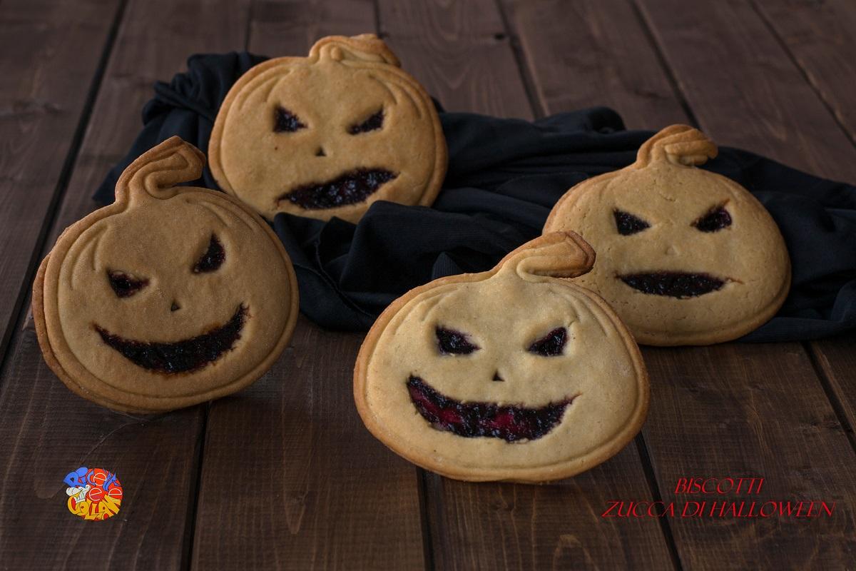 biscotti zucca di halloween