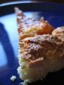 Crostata light con marmellata di pesche