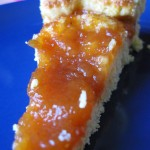Crostata light con marmellata di pesche