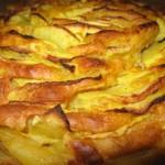 Torta morbida con mele e carote