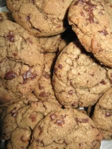 American cookies - Biscotti con gocce di cioccolato