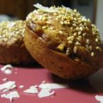 Muffins salati noci e Parmigiano-Reggiano