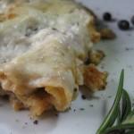 Lasagne di pane carasau con ragù di cinghiale Alpenzu