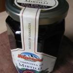 Composta di mirtilli 100% frutta Alpenzu