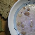 Minestra di castagne e latte