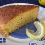Torta con farina di mais e limone