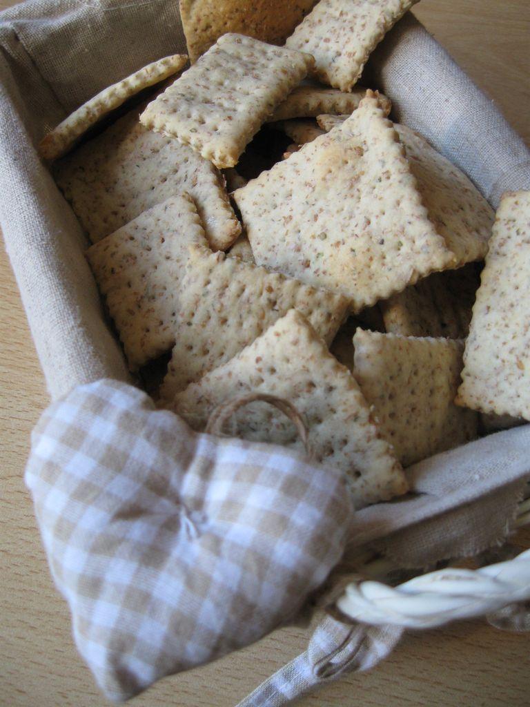Crackers Con Pasta Madre Non Rinfrescata
