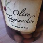 Olive taggiasche in salamoia dell'Azienda Ranise
