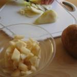 La preparazione della torta con gli accessori Bama