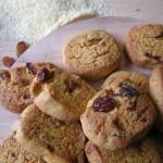 Zaeti o zaletti - biscotti veneti di mais con uvetta