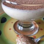 Semifreddo allo yogurt e biscotti Digestive al cioccolato
