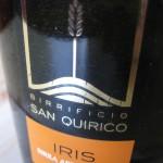 Birra Iris del Birrificio San Quirico