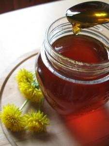 Gelatina di fiori di tarassaco o miele di tarassaco