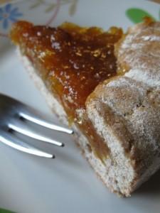 Crostata con farina di grano saraceno e ricotta