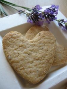 Biscotti integrali alla lavanda