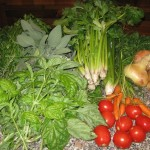 Gli ingredienti per fare il dado vegetale in casa