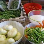 Le verdure e gli aromi per fare il dado vegetale in casa