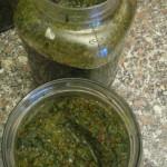 Dado vegetale homemade pronto per la macerazione