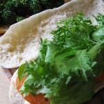 Pane arabo con esuberi di pasta madre