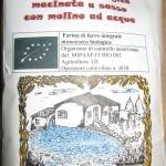 Farina integrale di farro monococco biologico del Molino Ronci