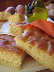 Focaccia di patate o Schiacciata