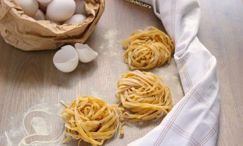 Tagliatelle all'uovo