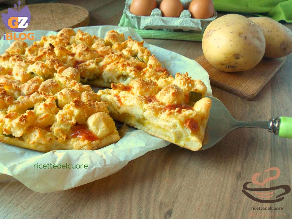 Gateau patate e zucchine