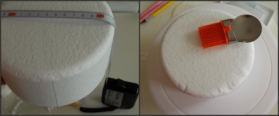 Si Stende Sul Desco.Tutorial Su Come Ricoprire Una Dummy Cake By Ricettedelcuore