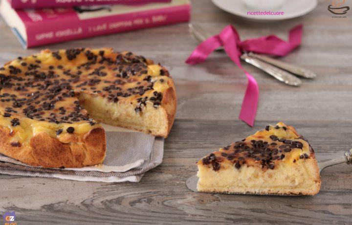 Pastiera napoletana con gocce di cioccolato