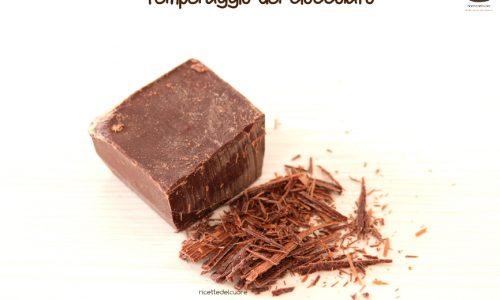 Temperaggio del cioccolato