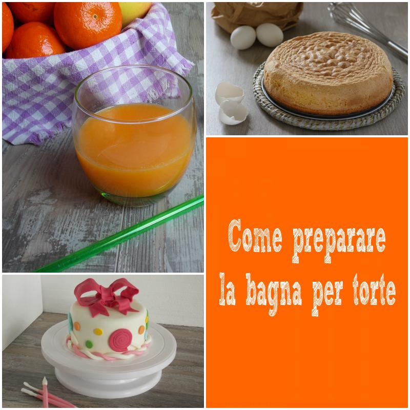 Come preparare la bagna per torte by ricettedelcuore