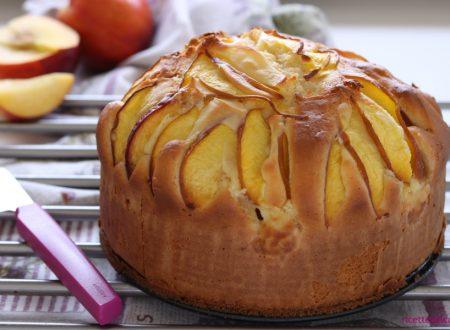 Torta NUA crema e pesche