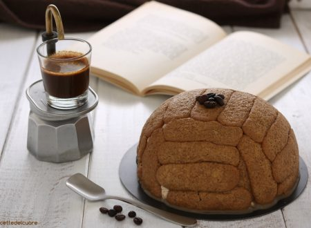 Zuccotto con crema al caffè senza cottura