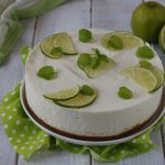Cheesecake lime e menta