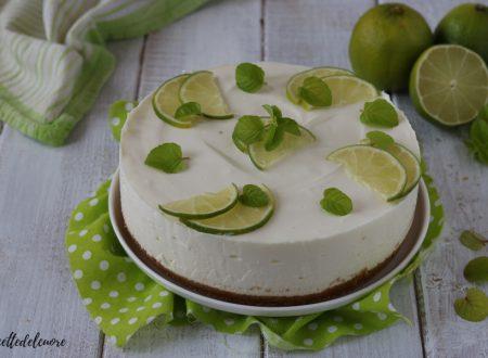 Cheesecake lime e menta RICETTA torta fredda estiva