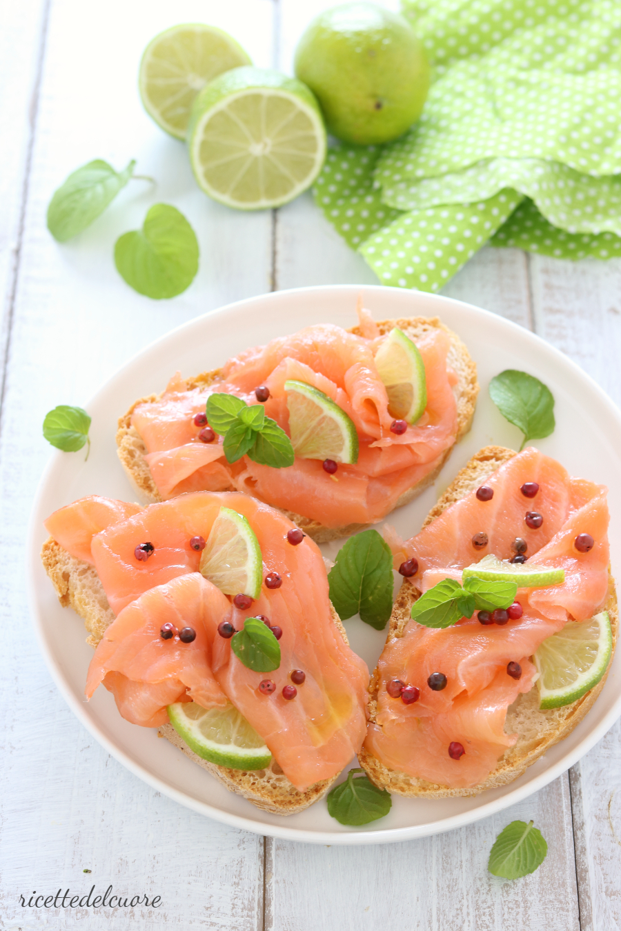 Carpaccio di salmone
