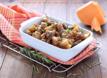 Spezzatino di manzo con patate e zucca gialla