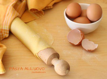 Pasta all'uovo fatta a mano