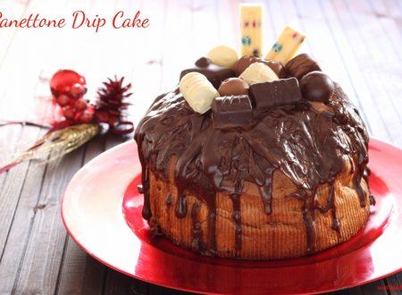 Panettone Drip Cake