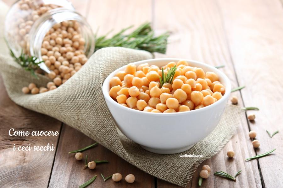 Come Cuocere I Ceci Secchi Consigli Pratici By Ricettedelcuore