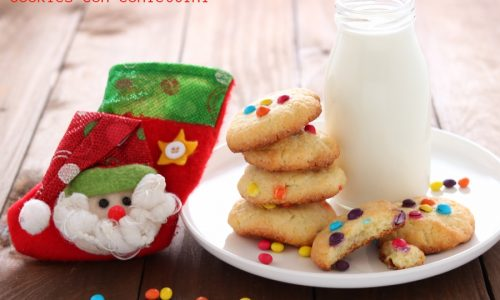Cookies con confettini