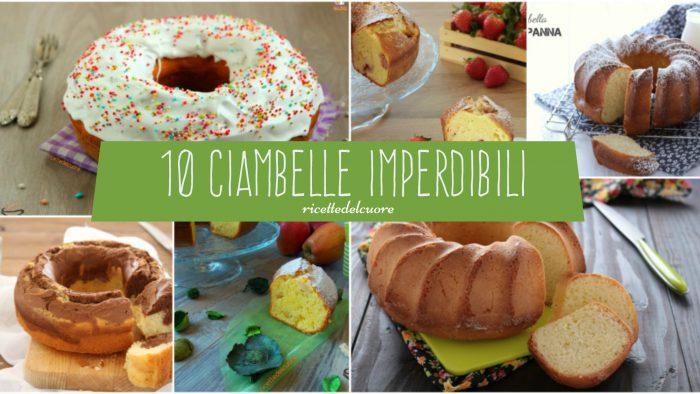 10 Ciambelle Imperdibili