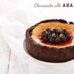 Cheesecake alle amarene