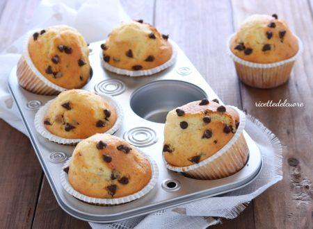 Muffin mascarpone e cioccolato