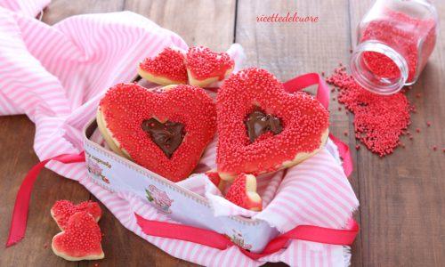 Biscotti glassati per San Valentino