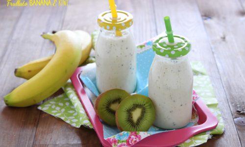 Frullato banana e kiwi