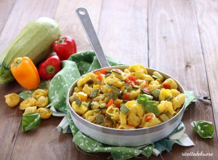 Tortellini di carne alle verdure